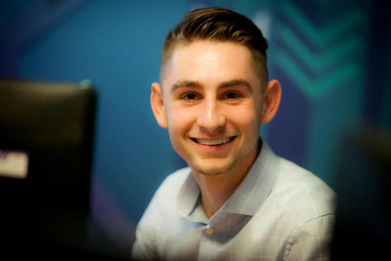 Meet Connor Pearson - motor finance specialist apprentice
