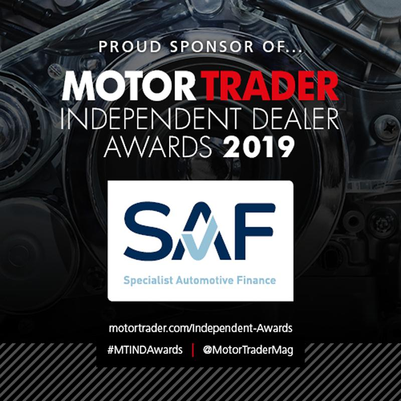 SAF sponsor the Motor Trader Independent Dealer Awards